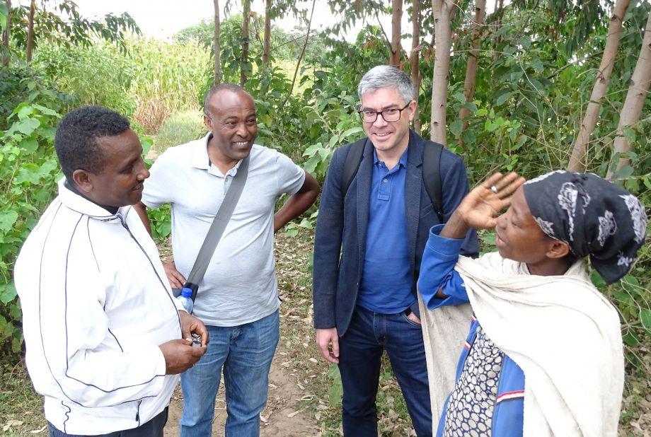 Friedbert Ottacher engagiert sich vor allem bei Projekten in Äthiopien, Uganda und im Südsudan.