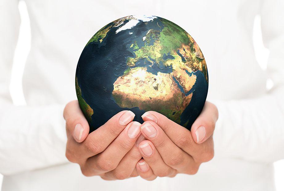 nur eine Welt (Foto: iStockphoto.com/Nastco)