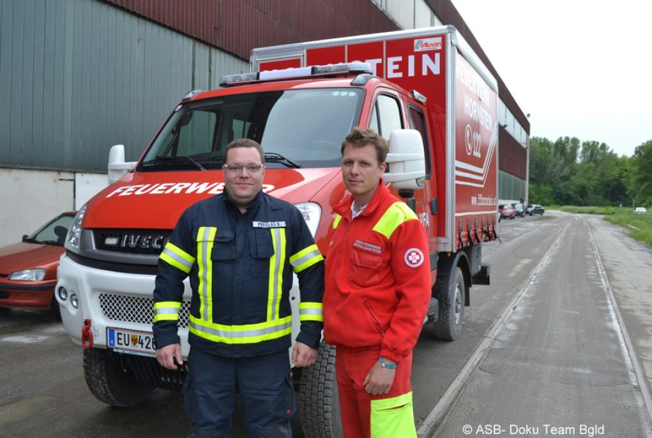 David Fehringer (rechts)